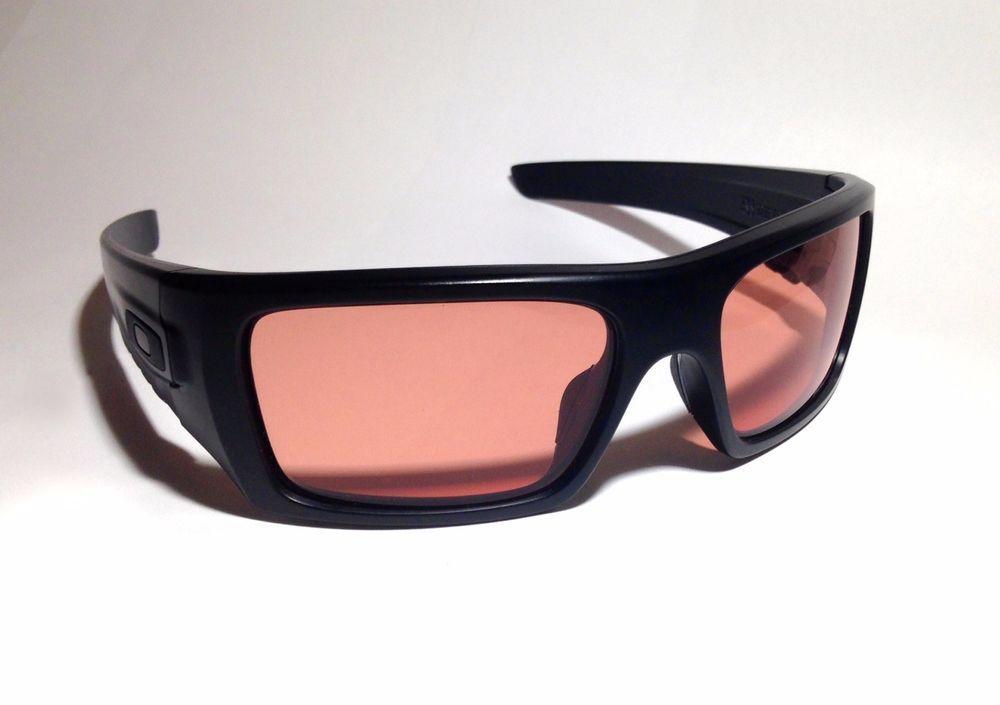 250d22f525cfd NEW OAKLEY SI Ballistic Det Cord OO9253-02 Sunglasses Eye Wear Matte Black  Frame  Oakley  Wrap