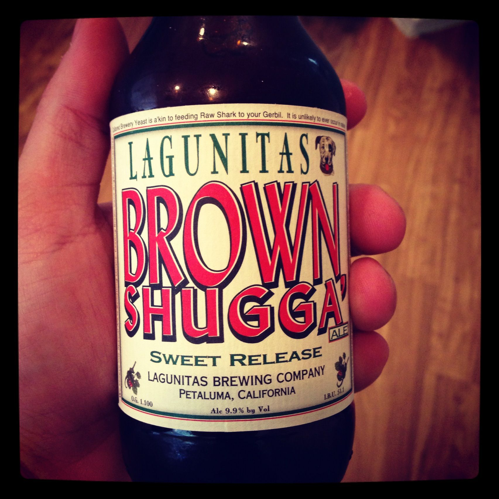 Lagunitas Brown Shugga Craft Brewing Feeding Raw Brewing
