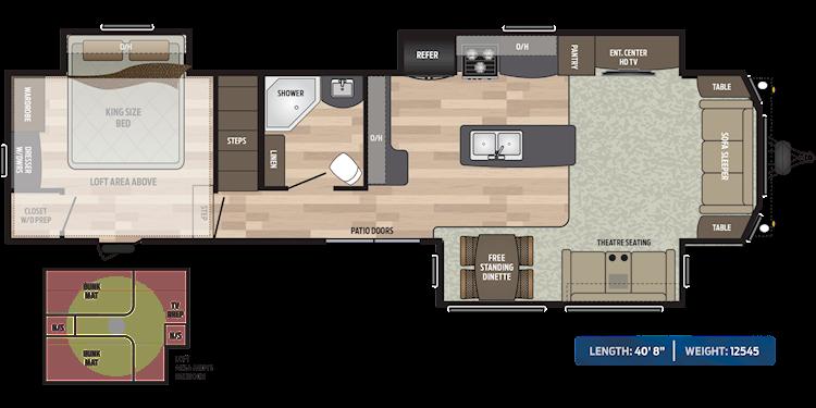 Residence Destination Trailer Floorplans Keystone Rv Floor Plans Loft Floor Plans Residences