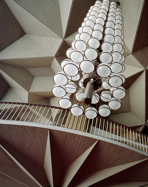 Teatro Regio in Turin, Italy by Carlo Mollino, 1973