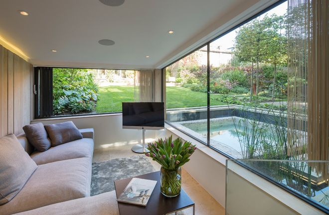 Contemporary Living Room by Folio Design LLP | For the Home/ Para ...