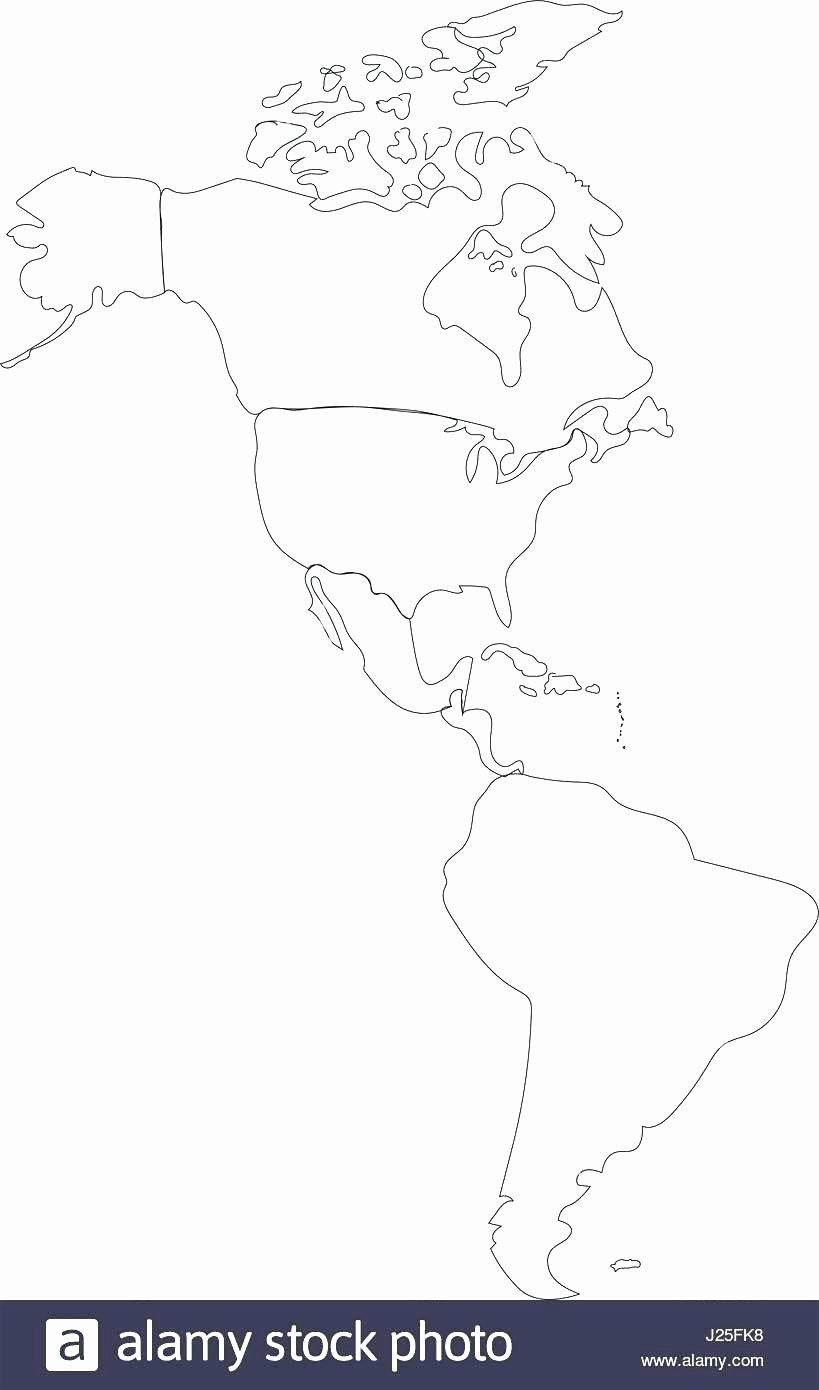 North America Countries Coloring Page Beautiful Free Coloring