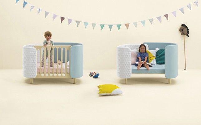 This Clever Furniture Grows With Your Kid Baby Kids Cot