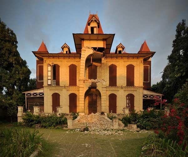 Haiti Gingerbread House
