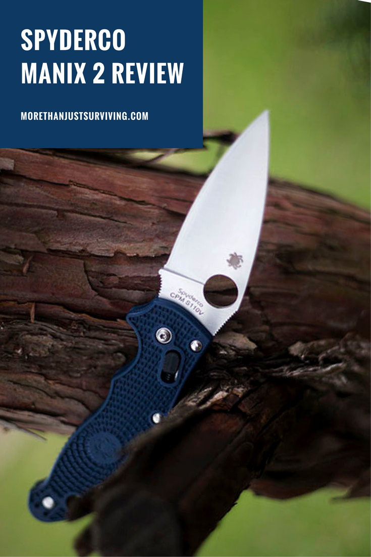 Spyderco Manix 2 Lightweight FRN S110V Knife Review | More