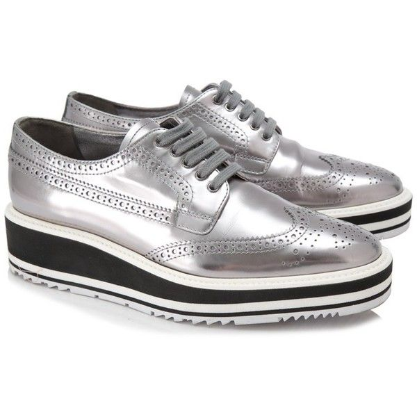 Pre-owned - Leather low trainers Prada Wxf9JugAF3
