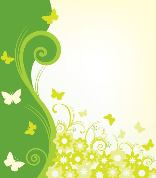 Graphic Design Backgrounds Background Butterfly Floral