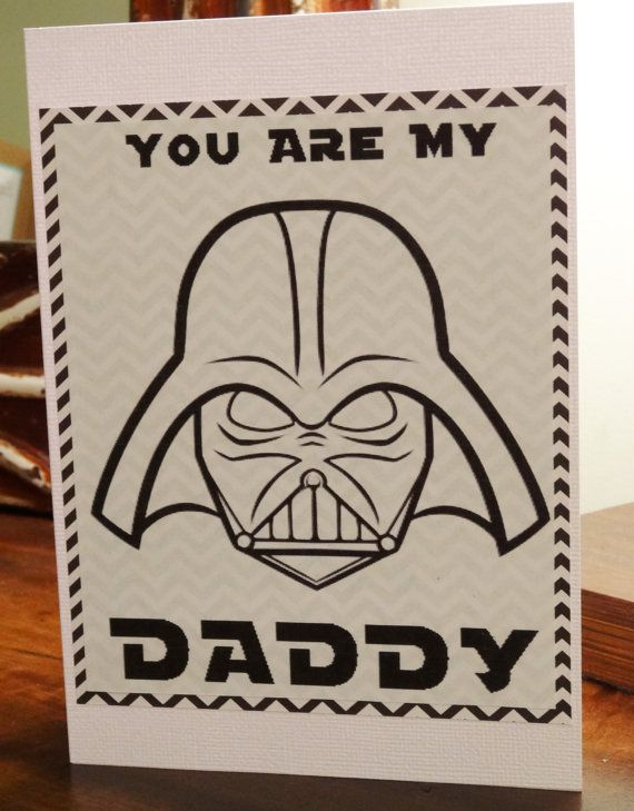 Star Wars Darth Vader Funny Valentines Day Fathers Day Card for – Star Wars Valentines Day Cards