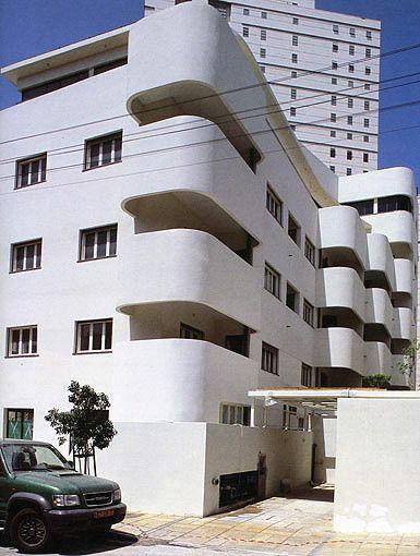 Bruno House, Tel Aviv Art deco buildings, Tel aviv