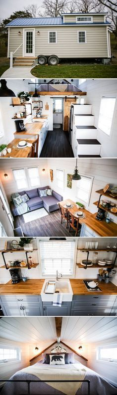 Modern Take Two by Liberation Tiny Homes #tinyhome