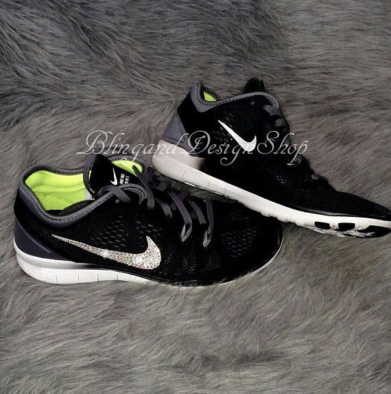 Nike Tr Fit 5 customized with Swarovski Crystals! Check out this item in my  Etsy 5f1c47645