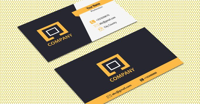 What To Include On Your Business Card Logomaker Examples Of Business Cards Corporate Event Design Corporate Business Card