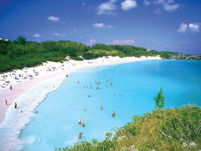 Bermuda Travel Tourism Horseshoe Bay Beach Southampton Parish