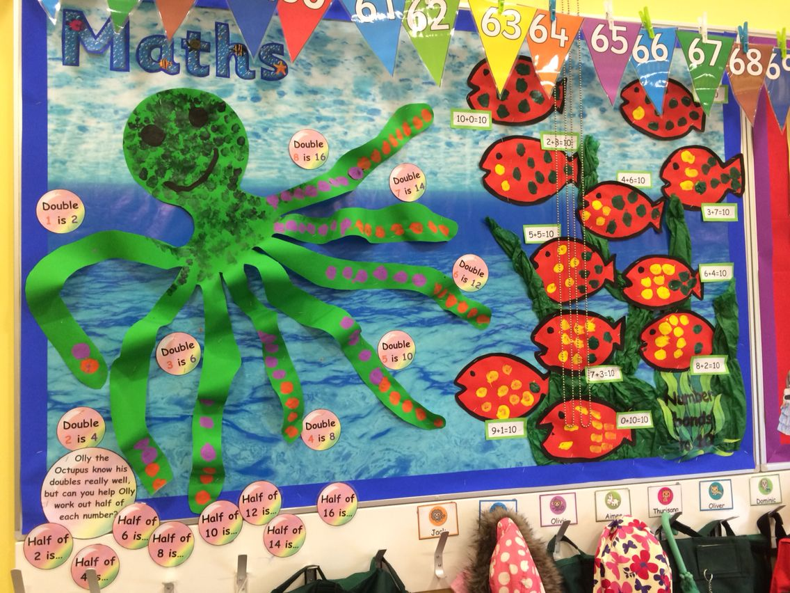 Year One Under The Sea Themed Maths Display