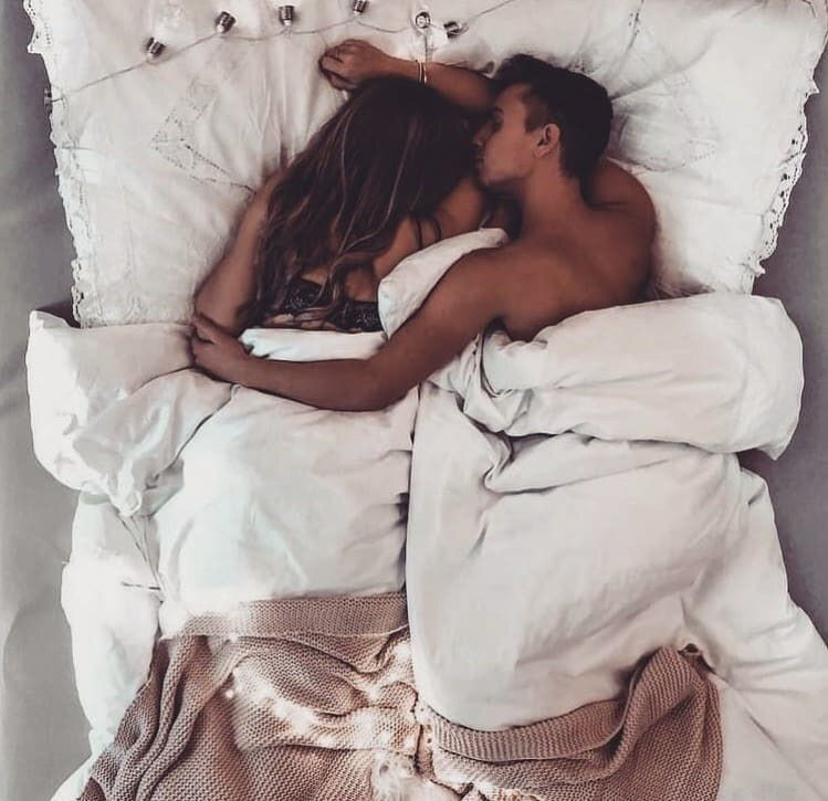 Legs Of A Couple Sleeping In Bed Free Image By Rawpixel Com