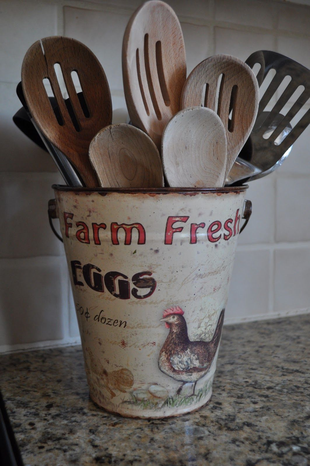 northern nesting the heart of our home vintage kitchen decor chicken kitchen farm kitchen on farmhouse kitchen utensils id=75514