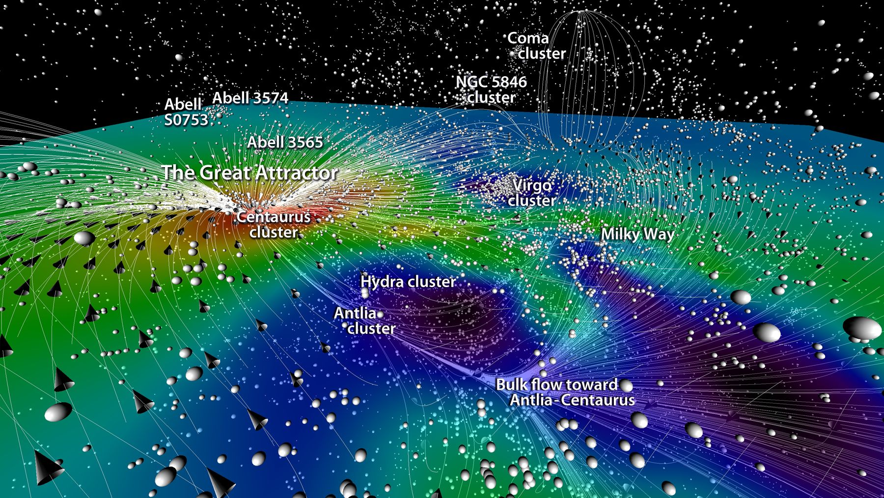 A new 3d map of the universe covers more than 100 million light a new 3d map of the universe covers more than 100 million light years sciox Images