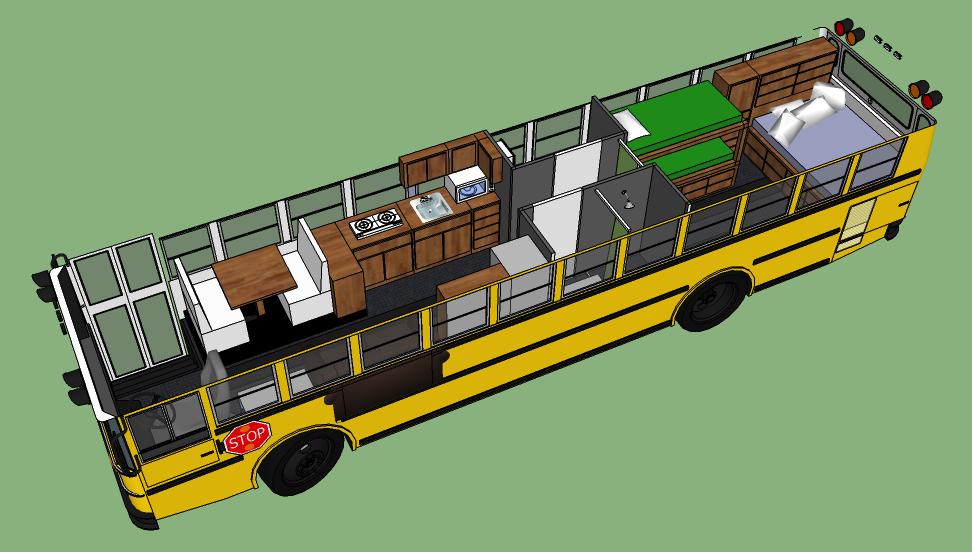 25 awesome bus camper travel trailer pinterest schulbus camper bus camper und campingbus. Black Bedroom Furniture Sets. Home Design Ideas