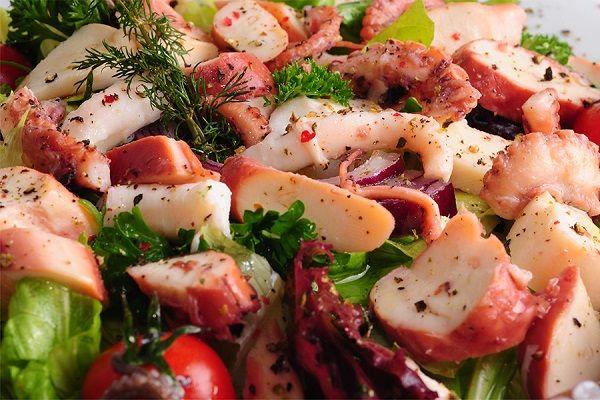 Ahtapot Salatası Videosu 4