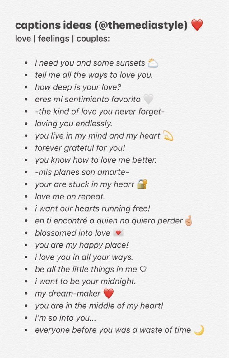 100+ Captions ideas for instagram