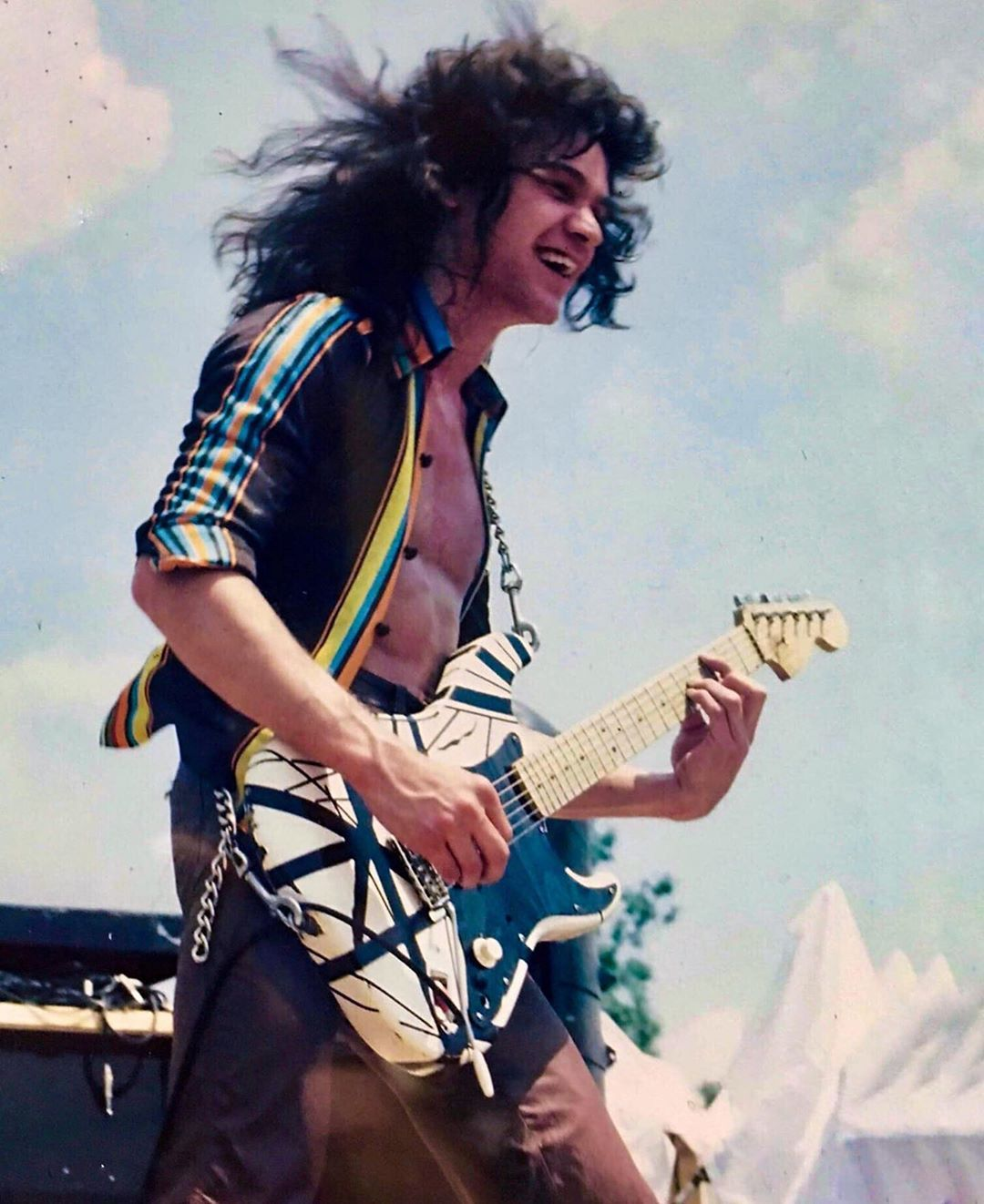 Eddie Van Halen By Wally T On Van Halen And More In 2020 Van Halen Van Halen 5150
