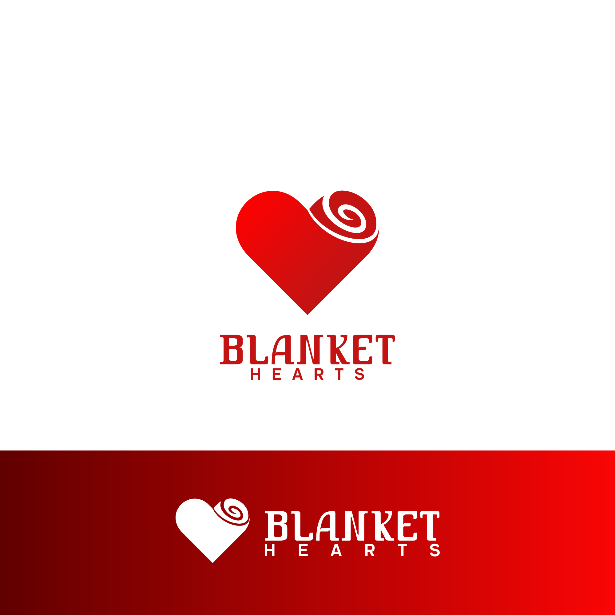 Logo Design 79 'Blanket Hearts' design project