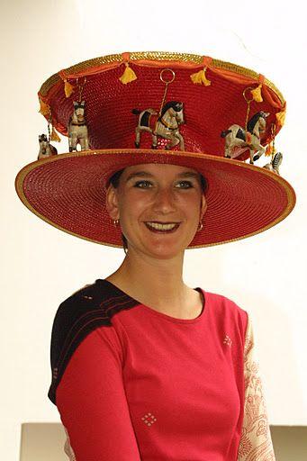 Ascot: Wacky Ladies\' Day hat fashion | Hats | Pinterest | Hüte ...