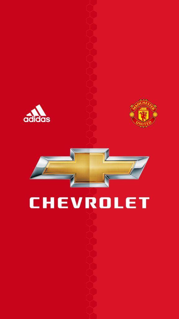Adidas Manchester United Chevrolet Sepak Bola Bola Kaki Olahraga