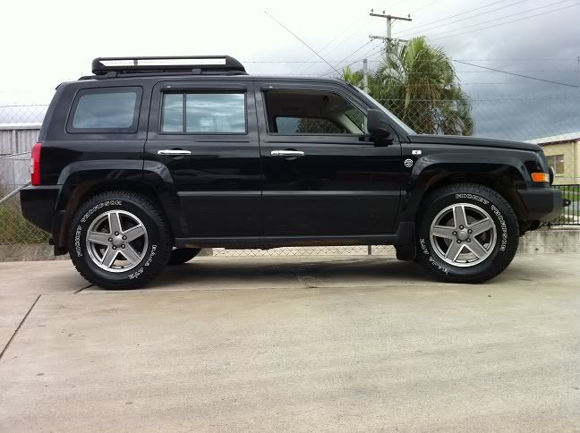 2014 Jeep Patriot Tire Size >> Jeep Patriot W Roof Rack Cars Motorcycles Jeep Jeep Patriot