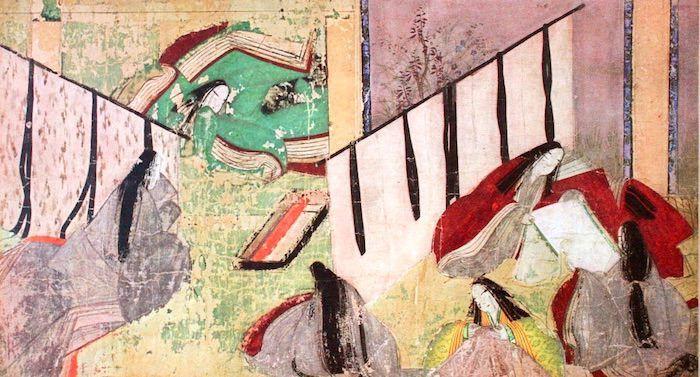 平安時代のイメージ(『源氏物語絵巻』より) | 日本画, 紫式部, 絵巻