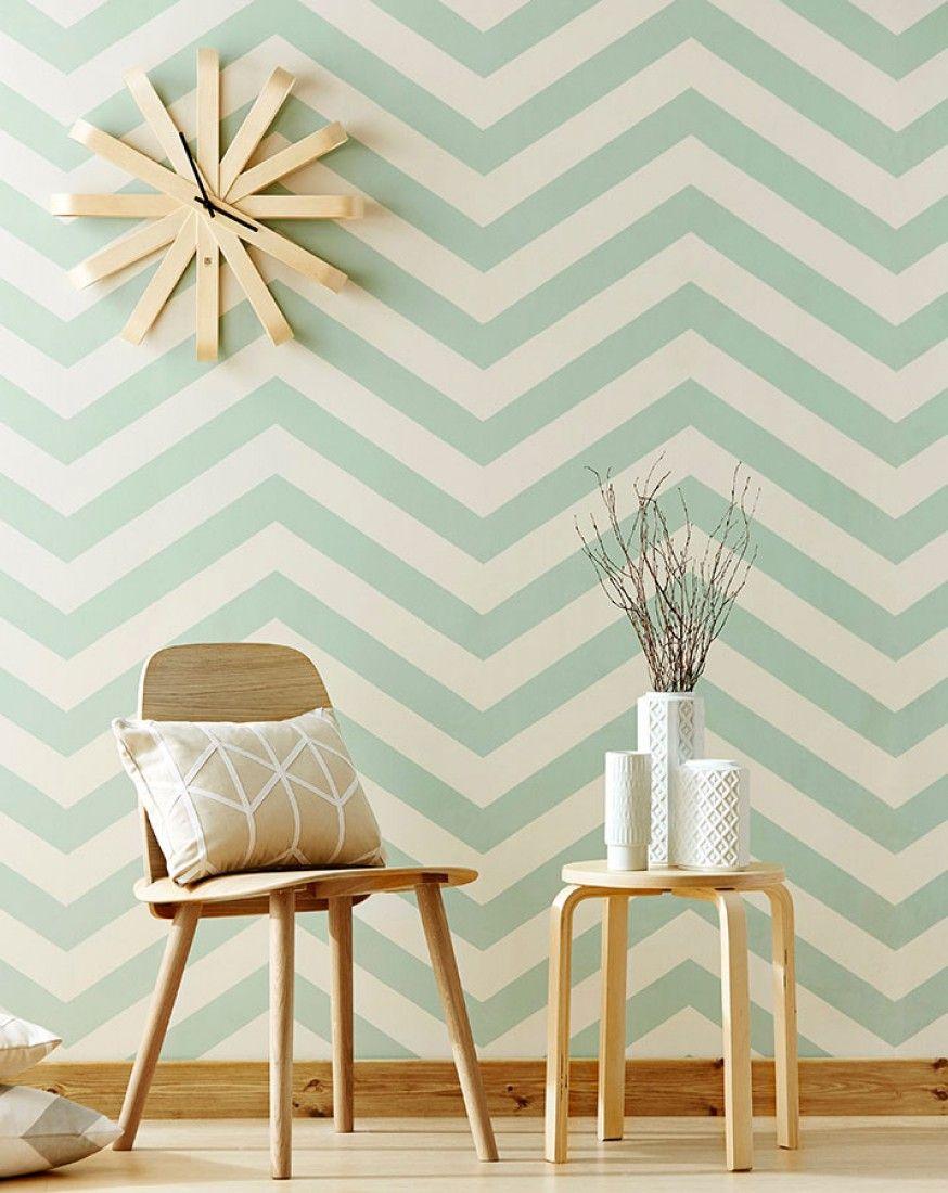 zag zig tapeten sch ne tapeten und stilvoll wohnen. Black Bedroom Furniture Sets. Home Design Ideas