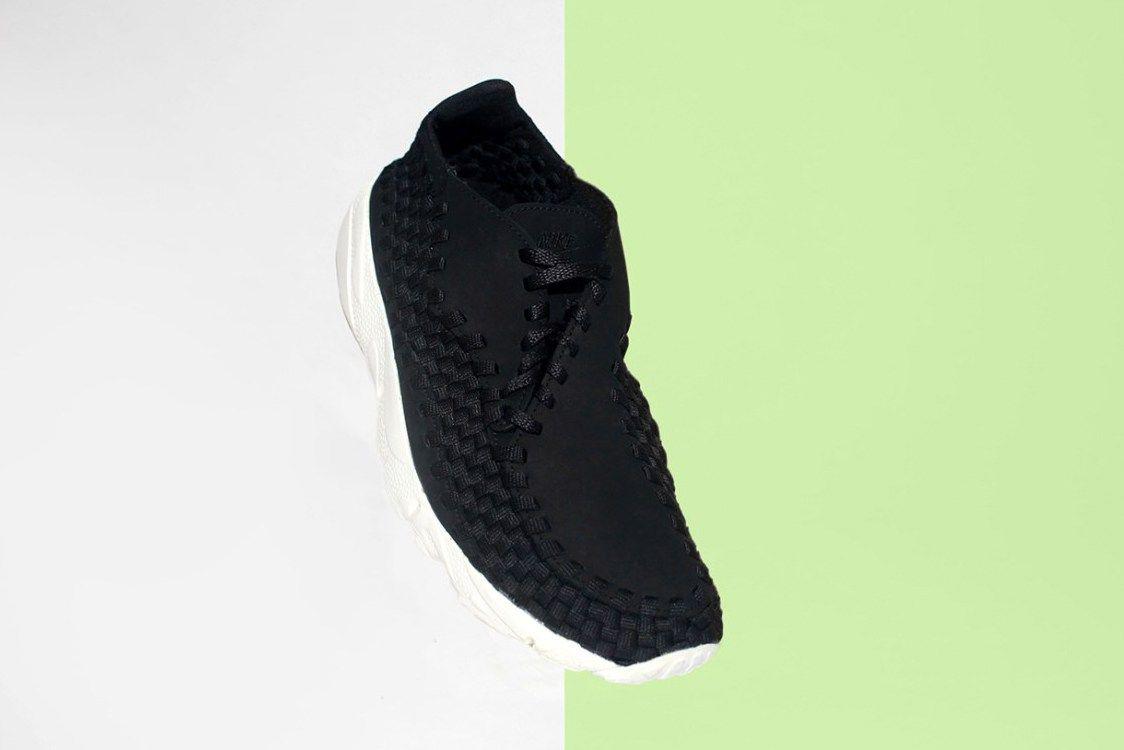 NikeLab Air Footscape Woven All Black