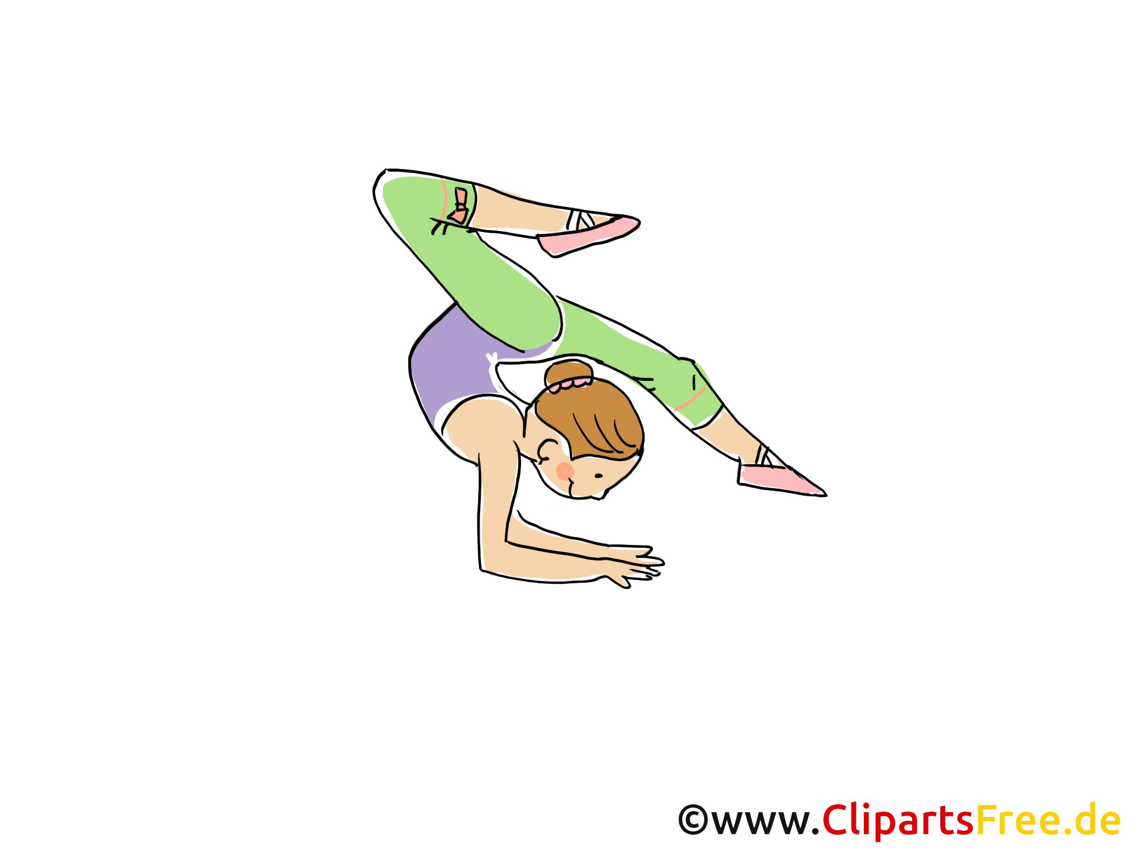 Gymnastique Dessin Gratuit Athletisme Image Dessin Gratuit Clip Art Dessin