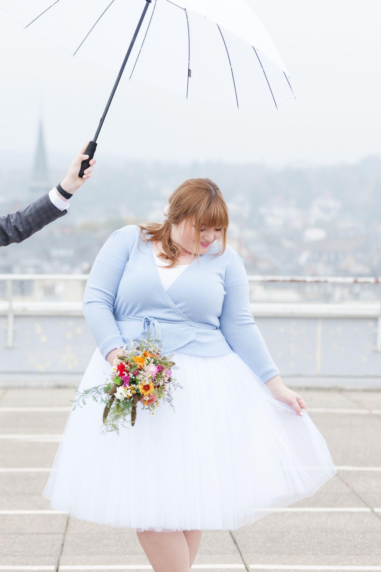 Unsere Hochzeit: Mein Plus Size Braut-Outfit | einfaches Brautkleid ...