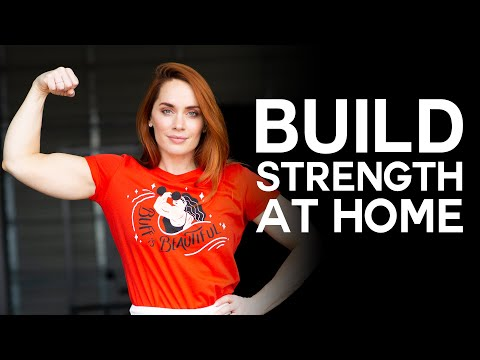 build strength at home while social distancing • full body