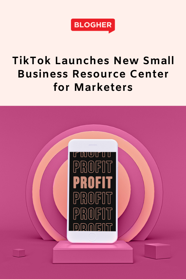 Tiktok Launches New Small Business Resource Center For Marketers Small Business Resources Business Resources Small Business Success