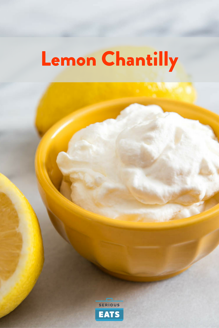 Lemon Chantilly Whipped Cream Recipe Recipe Creamy Recipes Lemon Whipped Cream Recipes With Whipping Cream