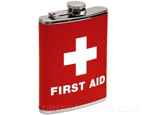 FIRST AID   when we dont have anything else | Just for Fun
