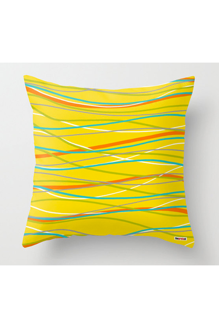 For The Home Bright Yellow Throw Pillow From Gretest See More Decor S At Onlinelove