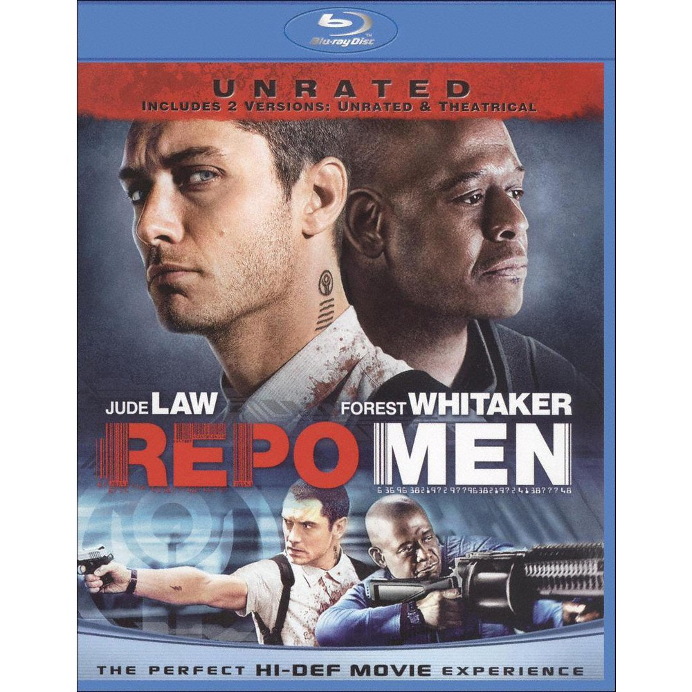 Repo Men (Unrated/Rated Versions) (Bluray)