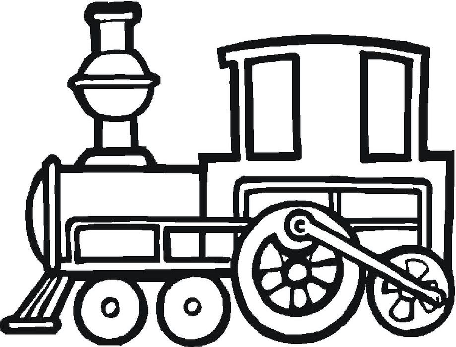 Free Train Coloring Pages From Collection Of Train Coloring Pages