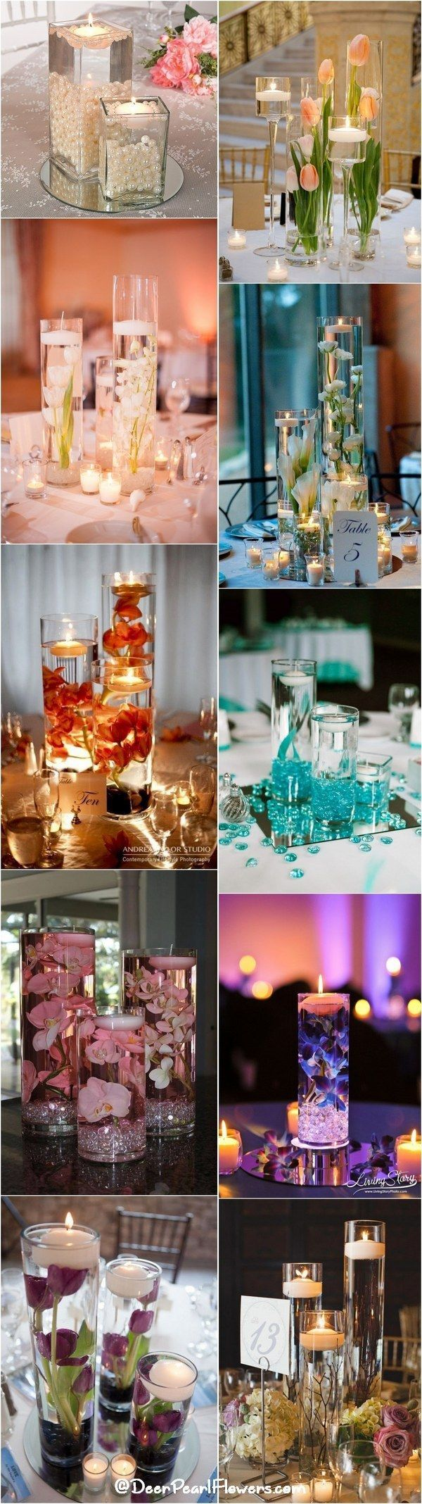 20 Impossibly Romantic Floating Wedding Centerpieces Centerpiece
