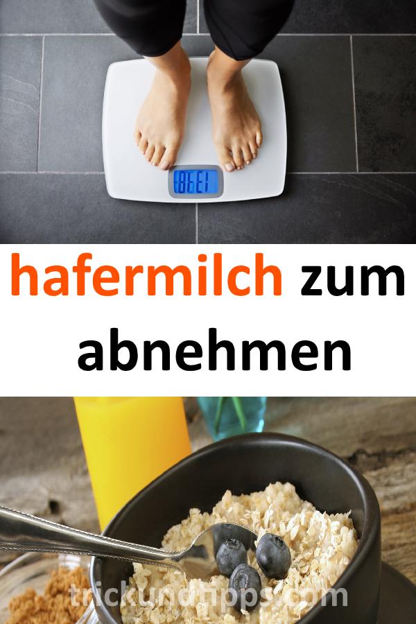 Hafermilch zur Gewichtsreduktion
