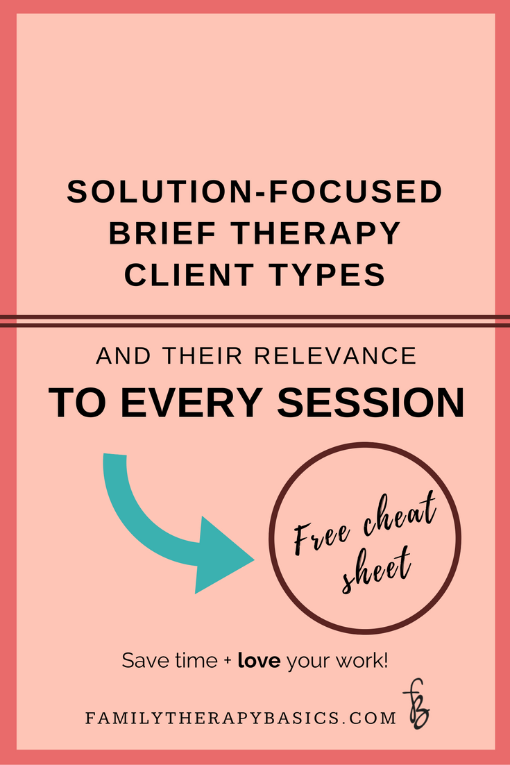worksheet Solution Focused Brief Therapy Worksheets remember the three client relationship types from solution focused brief therapy this is a