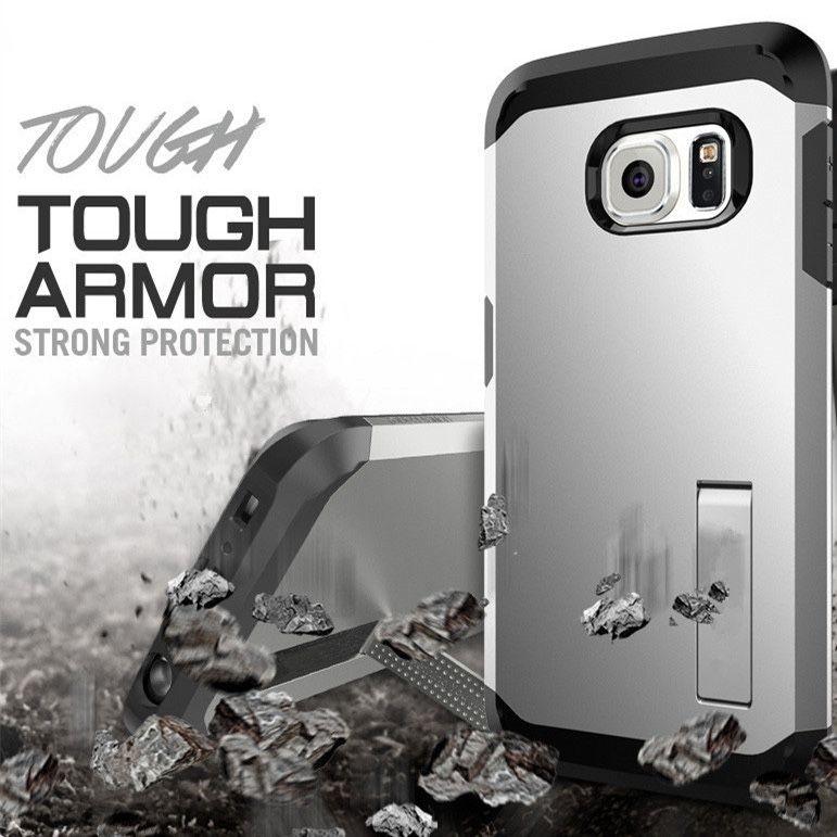 Galaxy S6 Edge Case [HEAVY DUTY] Tough Armor