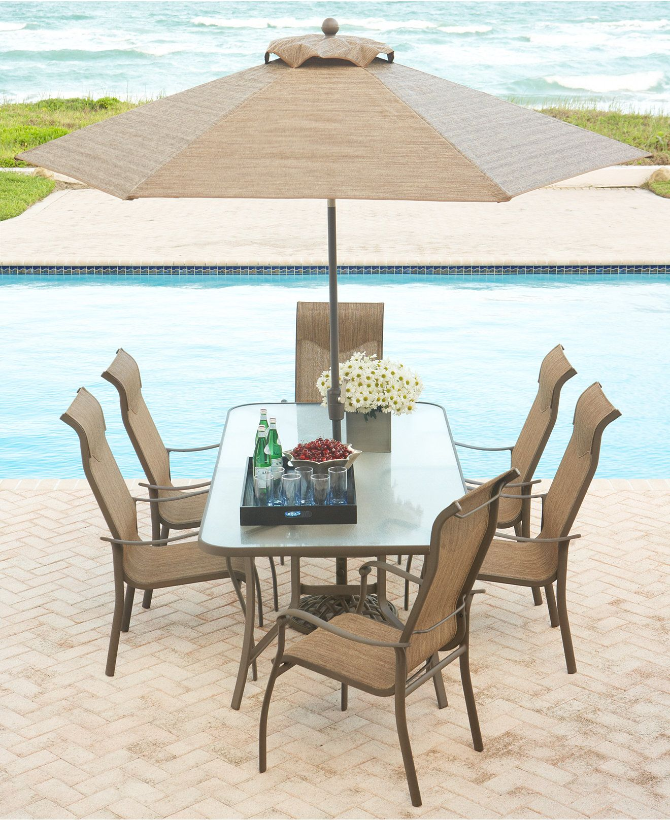 Oasis Outdoor Dining Collection Furniture Macy s