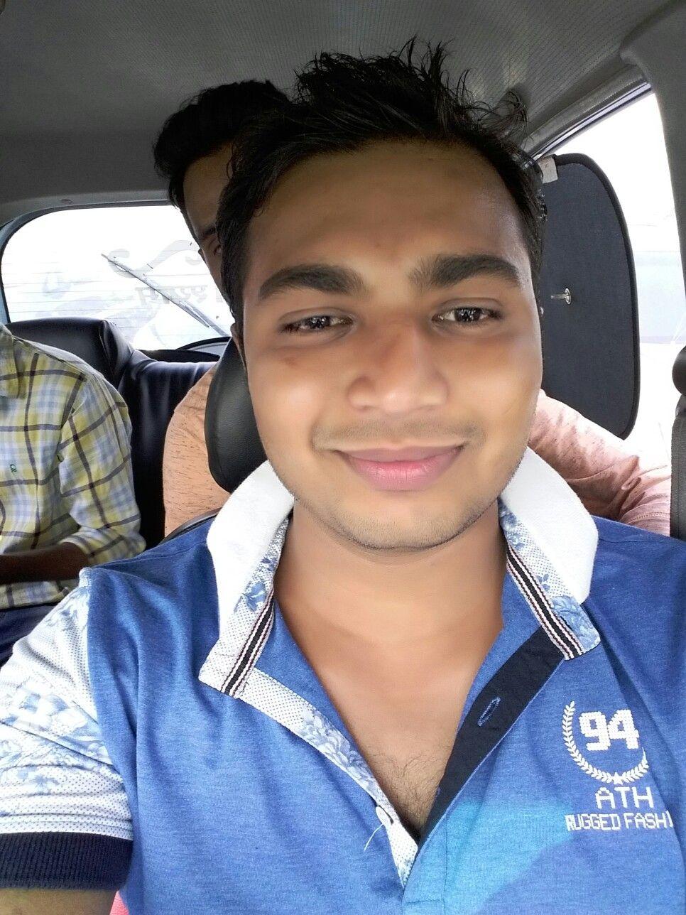Enjoying ride in Delhi