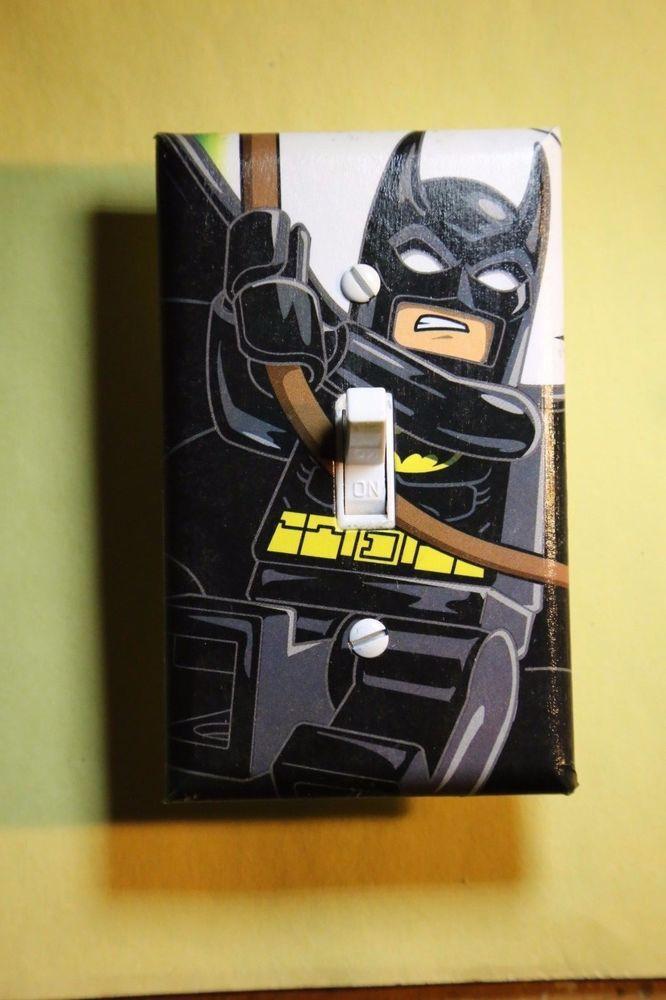 Lego Batman Light Switch Cover superhero comic book boys ...