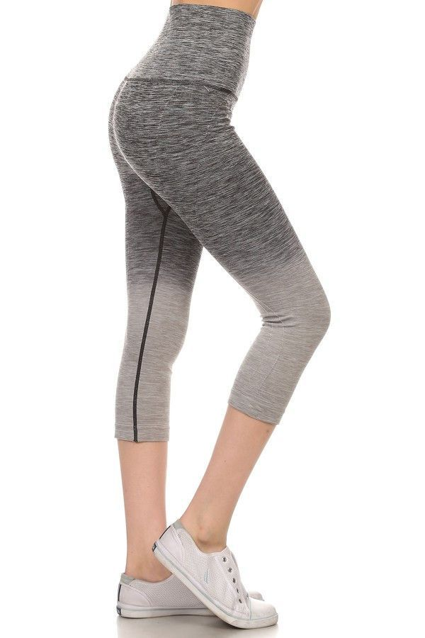 a97f65fe9f3bc Work hard play hard & look great in this stylish active wear leggings that  are as strong as you are! The ombre design will make you stand out in the  crowd.