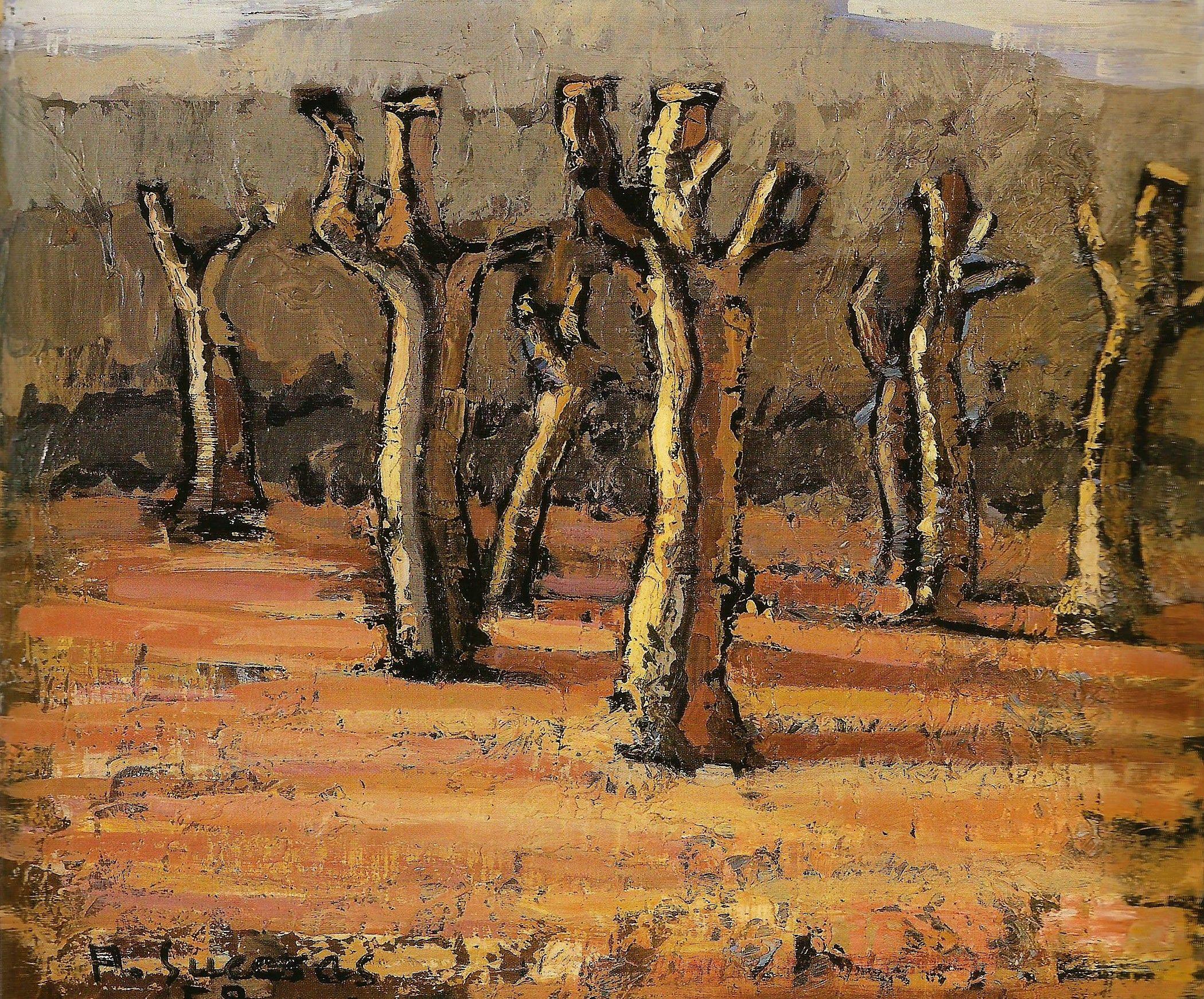 Sen título. Óleo/lenzo. 1958. Alfonso Sucasas